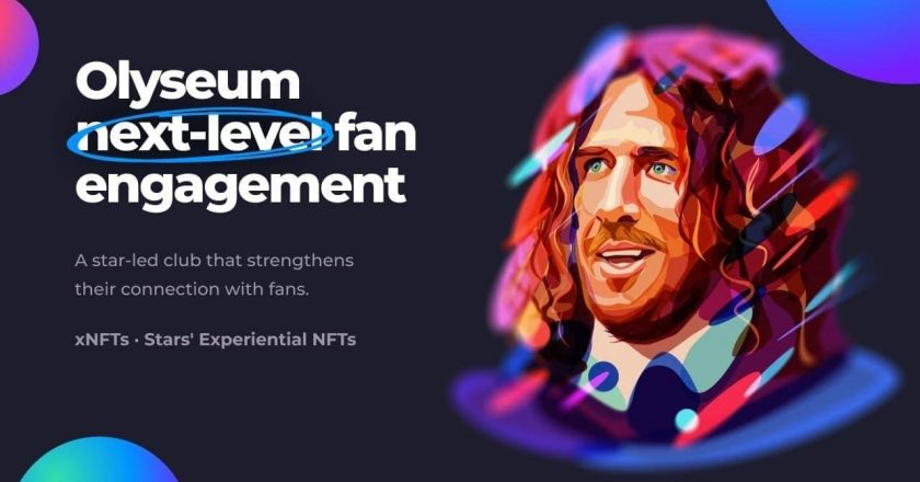 Olyseum launches the world's first experiential NFT platform to strengthen celebrity-fan engagement