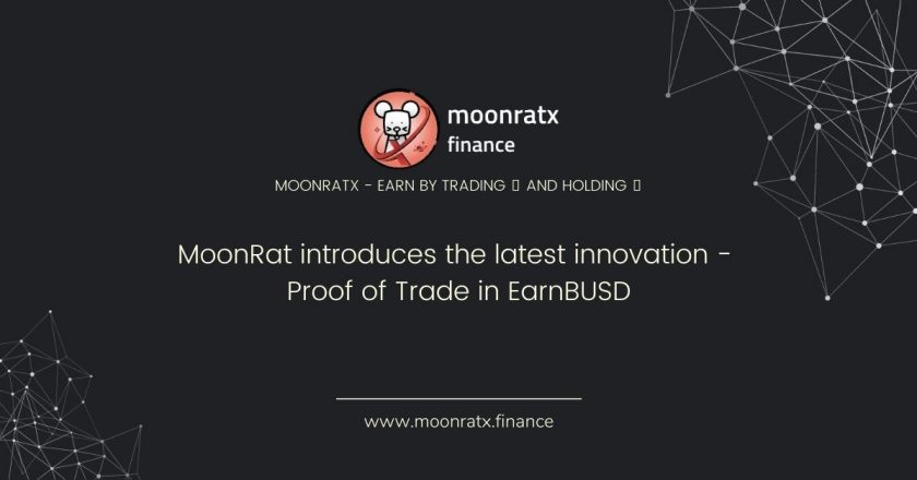 MoonRat introduces the latest innovation – Proof of Trade in EarnBUSD