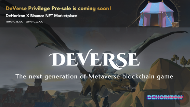 """DeHorizon Foundation is to Initiate DeVerse, Blockchain-based MMO/RPG Metaverse, Making """"Play for Fun and to Earn"""" into Reality!"""
